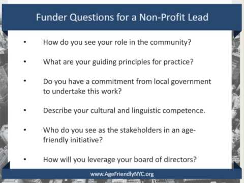 Finding the Best Lead Agency to Make Your Community Age-Friendly