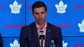 John Tavares Press Conference - July 1, 2018