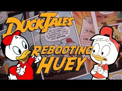 DisneyXD's Ducktales: Rebooting Huey Duck