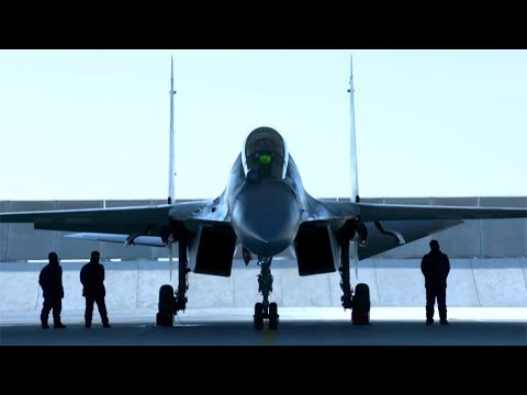 J-16 fighter jet video released by PLA Air Force