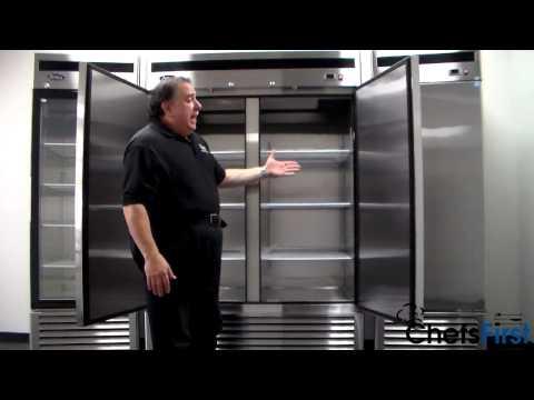 ChefsFirst Upright Reach-in Refrigerators