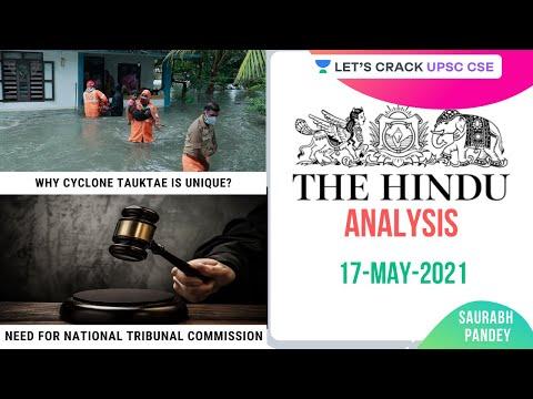 17th May 2021 | The Hindu Newspaper Analysis | Current Affairs | UPSC CSE | Saurabh Pandey