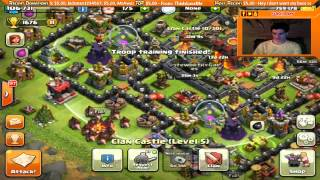 Clash of Clans Live Stream Replay: 2 Hours of Awesome!