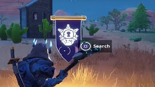 WEEK 10 SECRET BANNER LOCATION SEASON 7 - Fortnite Battle Royale Challenge