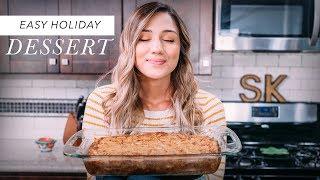 EASY APPLE CAKE RECIPE  HOW TO MAKE APPLE CAKE  Kristen&#39s Kitchen