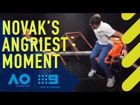 Novak Djokovic's Meltdown At Andy Lee | Wide World Of Sports