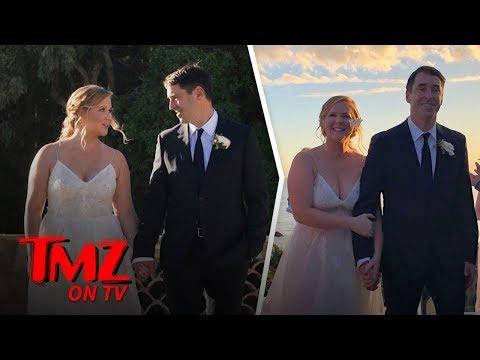 Amy Schumer Had A Super Secret Wedding! | TMZ TV