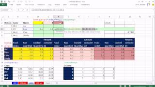 Excel Magic Trick 1009: Lookup 3 Different Arrays From 3 Different Tables: VLOOKUP, CHOOSE, INDEX