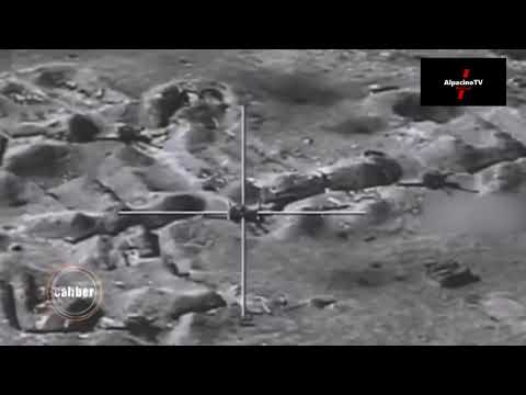 Footage Of The Combat Use Of Anti Tank Guided Missiles Of The Israeli Spike Complex By Azerbaijan