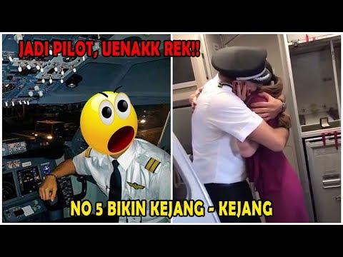 TERBONGKAR! 6 Fakta Enaknya Jadi Pilot Di Indonesia Yang Bikin Ngiler!