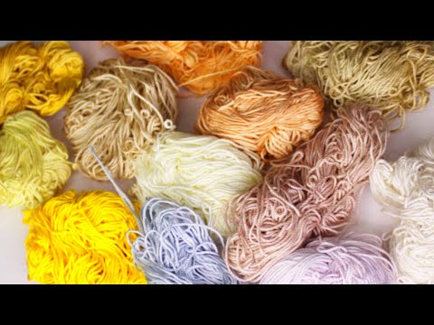 9 DIY Natural Plant Dyes | Botanical Eco-friendly Fabric Dyes | Vinegar Vs Alum For Colorfastness