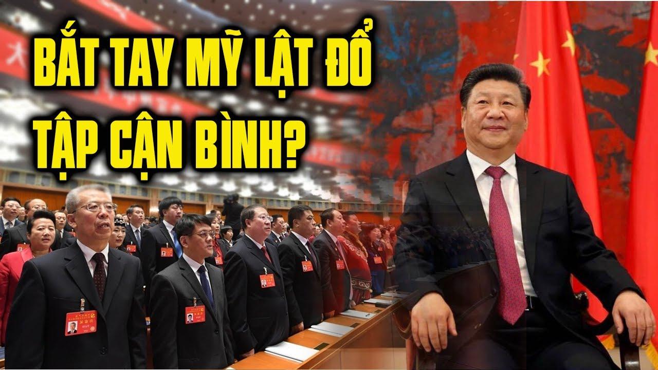 Nguyên lão đảng CS Trung Cộng bắt tay với Mỹ để lật Tập Cận Bình