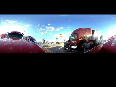 360 Degree Trucking View. Met Up With Saint4real 4real And Stevebrooks From YTTA.