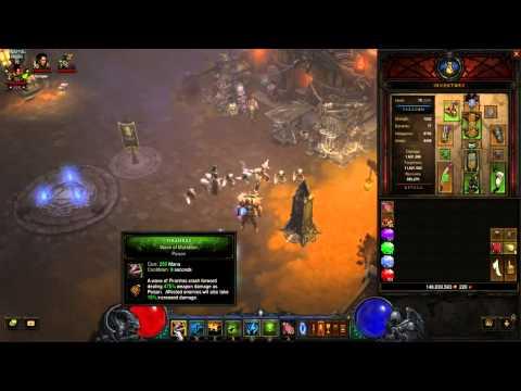 Diablo 3 ► Witch Doctor Poison Grin Reaper Build Patch 2 1 2 Diablo 3 Reaper of Souls