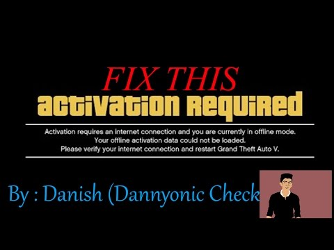 How To Fix GTA 5/V Activation Required Fix By Date Changing