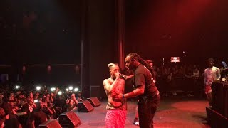 XXXTENTACION stops LA show & Makes security kick a girl out for starting fights.
