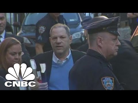 Harvey Weinstein Arrives At NYPD Station | CNBC