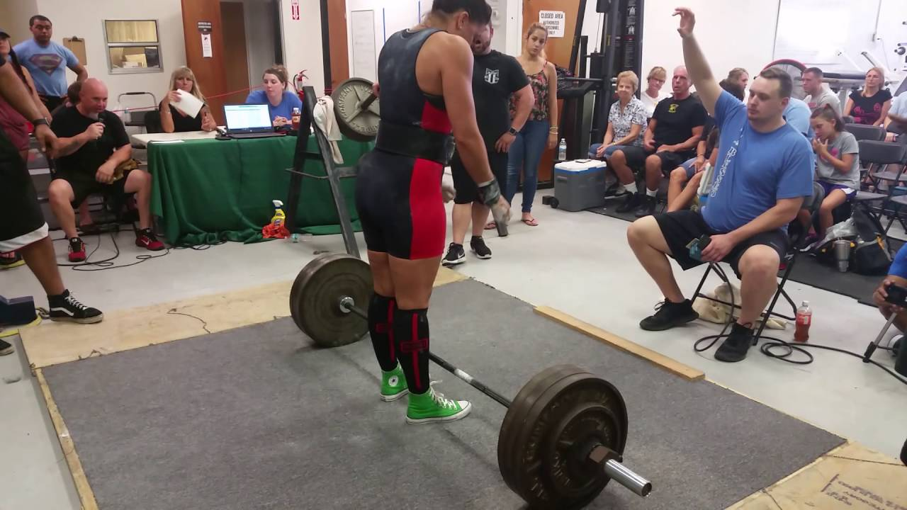 Wo womens bench press records by weight class - 380 Lb Women S Deadlift Apa American Record Raw Powerlifting