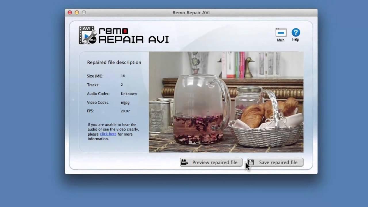 How to repair corrupt AVI video files on Mac? - YouTube