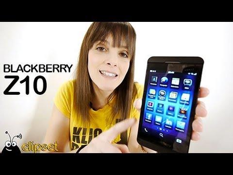 BlackBerry Z10 review análisis Videorama