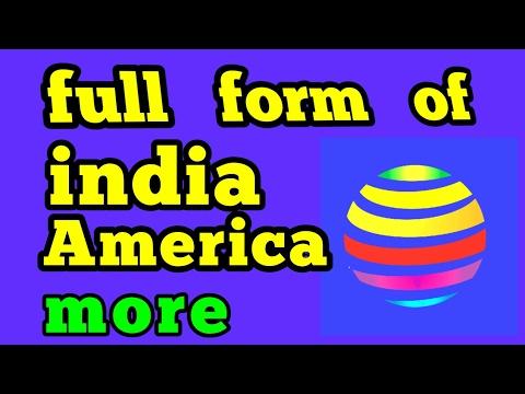 full form of India, america,USA,UK & US technical & important full ...