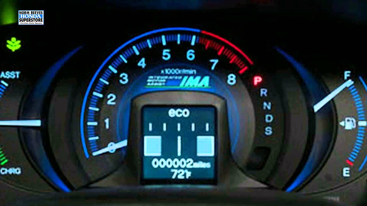 Honda Insight Dashboard Light Guide - Los Angeles Ca