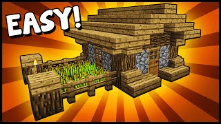Simple, Compact & Efficient House! - Minecraft Tutorial