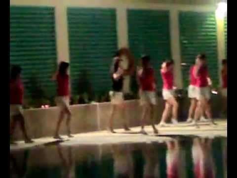 Hazel Park 2008 Christmas party: Cashew Zone 3 RC line dance
