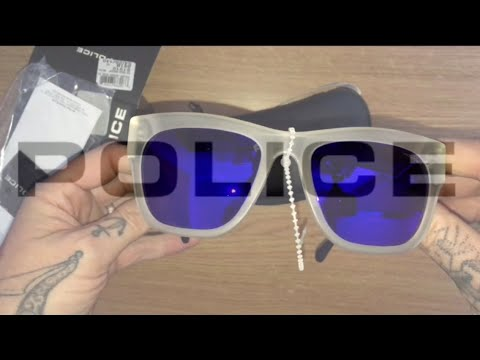 POLICE SUNGLASSES BOX OPENING.