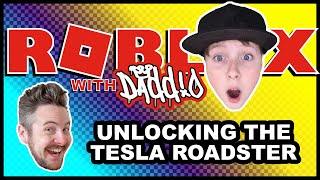 Mad City – ROBLOX with Daddio – Unlocking the Tesla Roadster (Crime Does Pay)