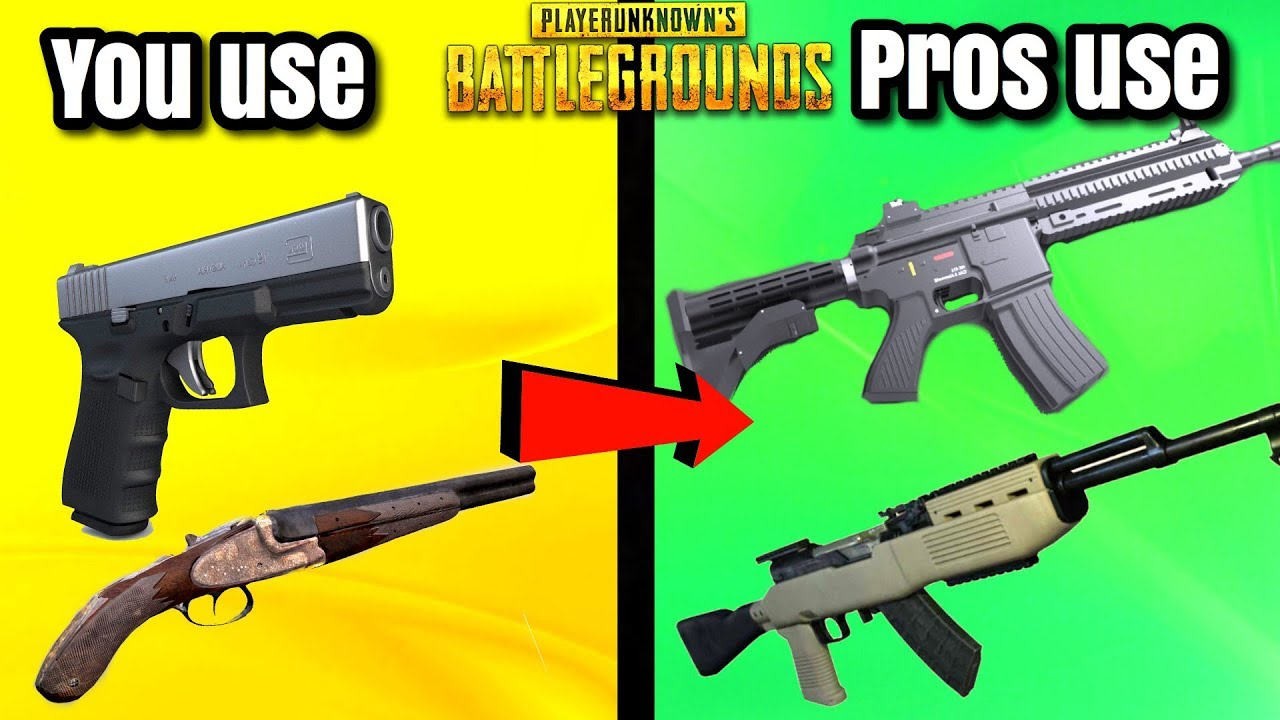 Pubg Weapons Guide The Best Guns For Getting A Chicken: 5 BEST WEAPON COMBOS IN PUBG
