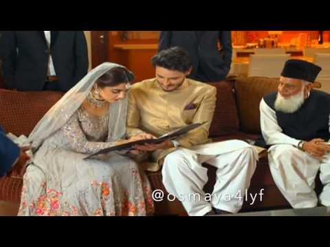 Osman Khalid Butt & Maya Ali Osmaya  Harib & Aan Aarib - Hua Hai Aaj Pehli Baar 💫