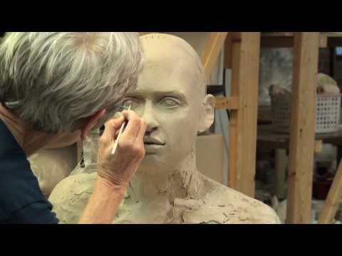 tip toland sculpting a bust at seward park clay studio youtube