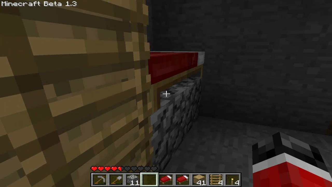 Minecraft - How To Make A Bunk Bed - Minecraft - How To Make A Bunk Bed - YouTube
