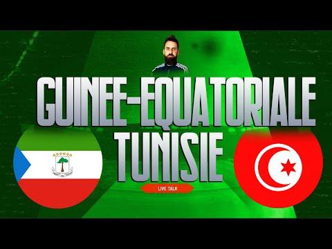 GUINEE-EQUATORIALE - TUNISIE | 🔴 Live Talk Qualification CAN 2021 | 19-11-2019