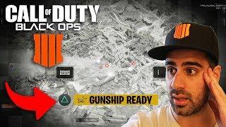 *WORLDS FIRST GUNSHIP GAMEPLAY* Call of Duty Black Ops 4 HIGHEST KILL STREAK! (BO4 Early Gameplay)