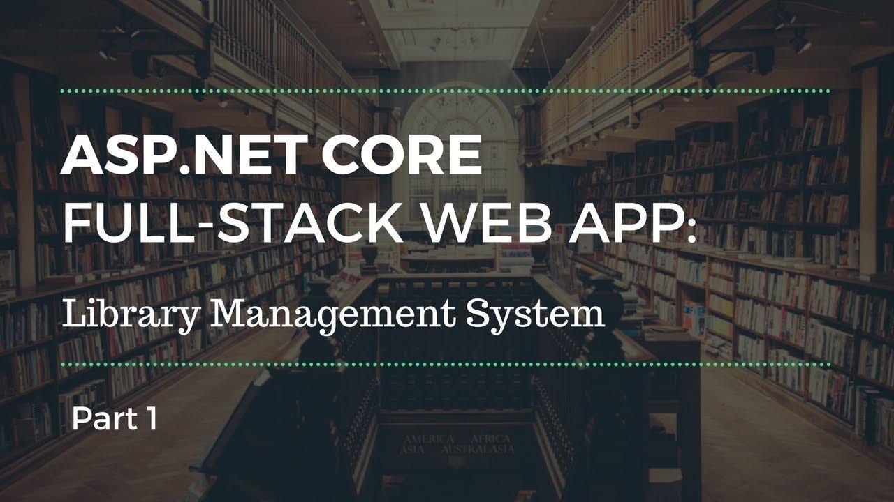 Asp Net Core Web App Tutorial Part 1 Youtube
