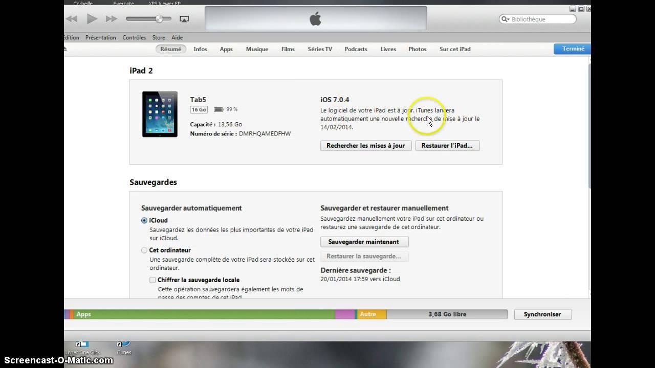 Transférer un iBook vers un PC avec iTunes