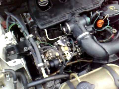 2002 peugeot partner broken engine (head) - youtube