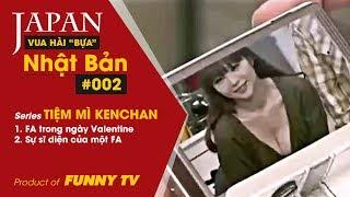 Vua hài Nhật Bản Ken Shimura | Hài bựa Nhật Bản | #002 | Series Tiệm mì KenChan | Funny TV Channel