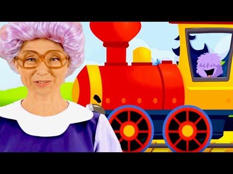 Kids Sing Along | Choo Choo Train | Learn English Songs | Kids Karaoke | Helen Doron Song Club
