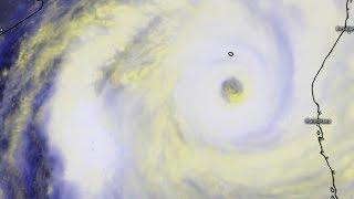Le cyclone intense IDAI de plus en plus impressionnant
