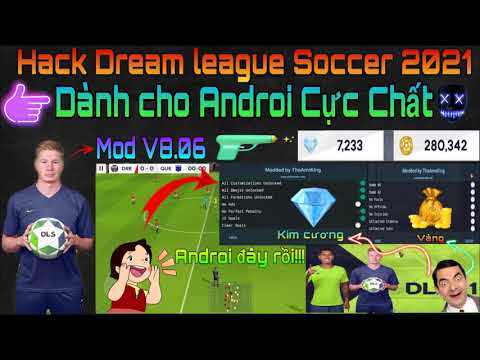 hack coin dream league soccer trên android - Hack Dream League Soccer 2021 bản Androi cực chất