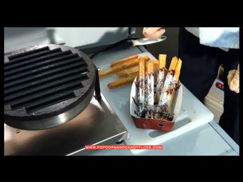 Churros - Without Frying - From A1 Equipment