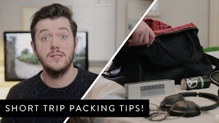 Short Trip Packing Tips Ad! Thumbnail