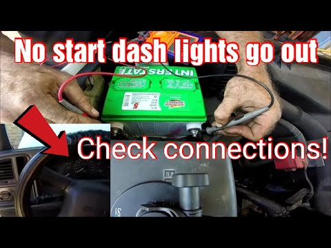 Wont Start Dash Lights Go Out When Key Is Turned