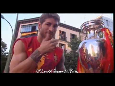 Spain Champions Euro 2012 - Victory (olé olé olé)