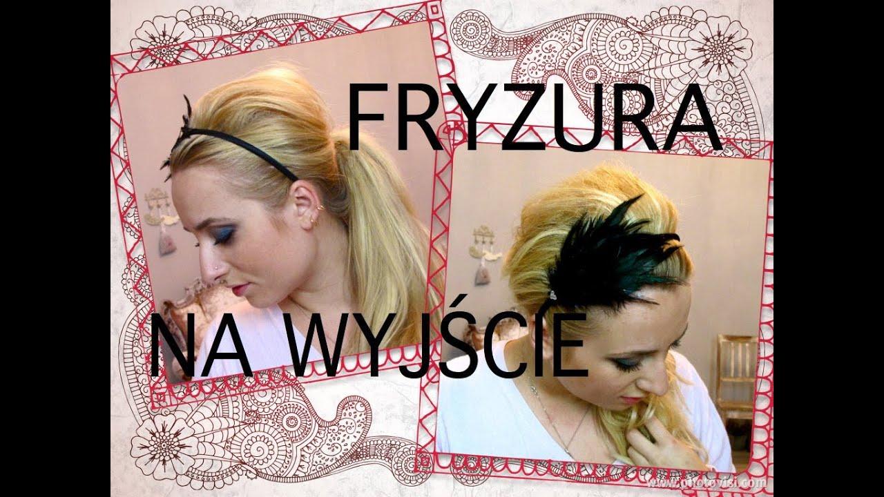 Szybka Fryzura Na Wyjście Z Opaską Test Kokówki 3 Min Hairstyle