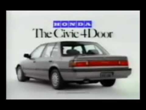 1989 honda civic 4 door sedan