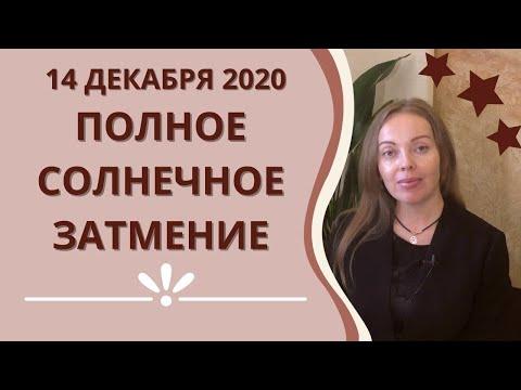 Затмение 14.12.2020 - полное Солнечное затмение